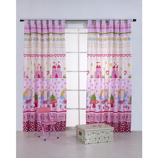 Cortinas infantiles for Cortinas infantiles nina