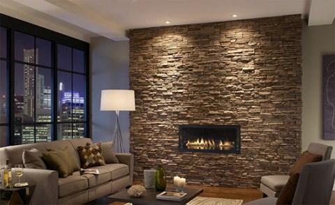 Como decorar las paredes con piedras for Tipos de piedras para paredes exteriores