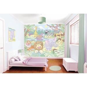 Mural infantil Baby Jungla