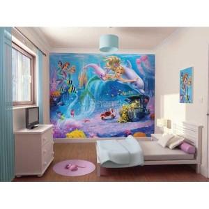 Mural infantil Sirenas