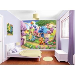 Mural infantil the bellybutton bears