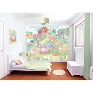 mural infantil diversion