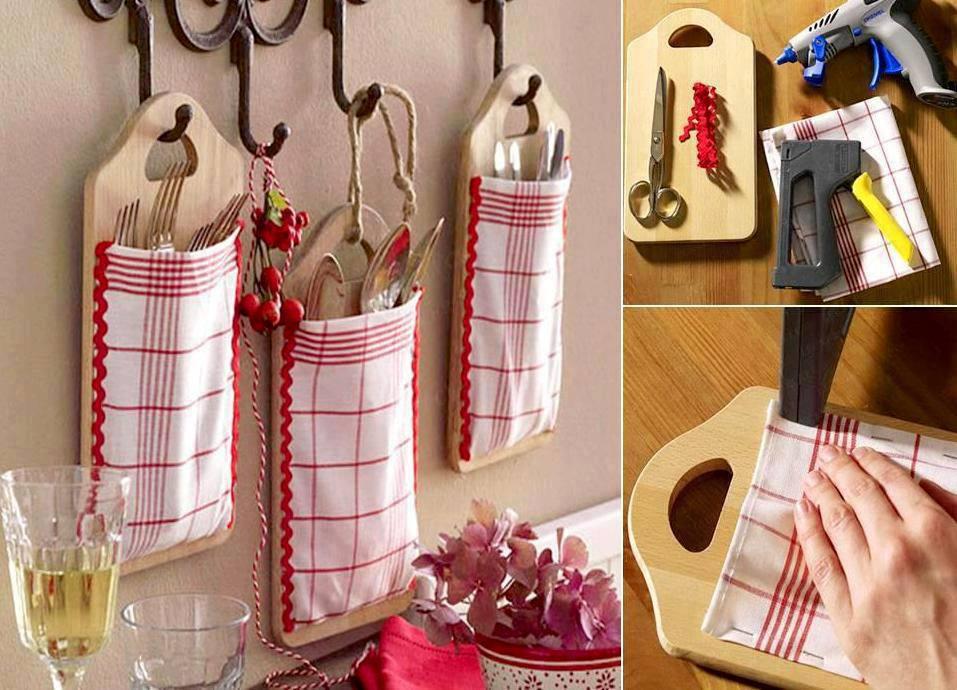 Organiza tu cocina con manualidades