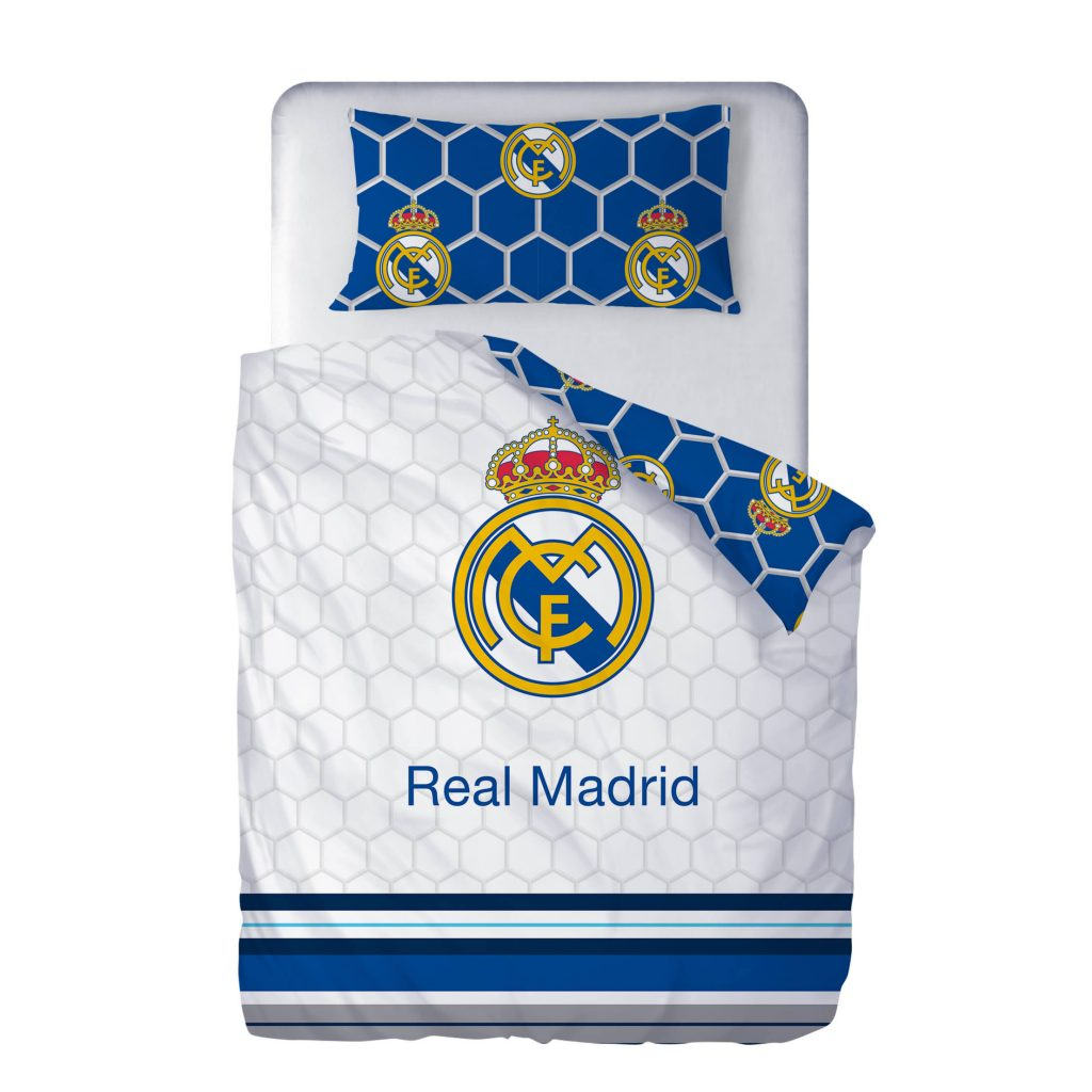 Funda Nórdica Escudo Blanca Real Madrid