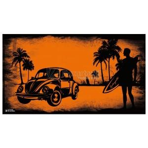 Toalla playa Colangatta orange