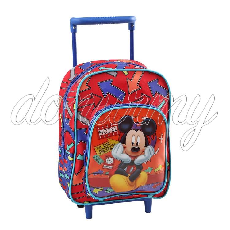 Mochila Mickey Mouse con carrito