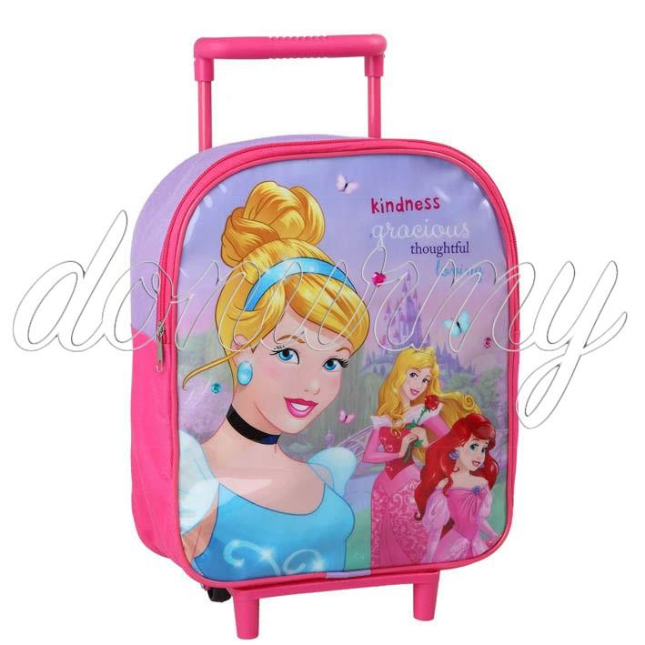 Mochila Princesas Disney con carrito