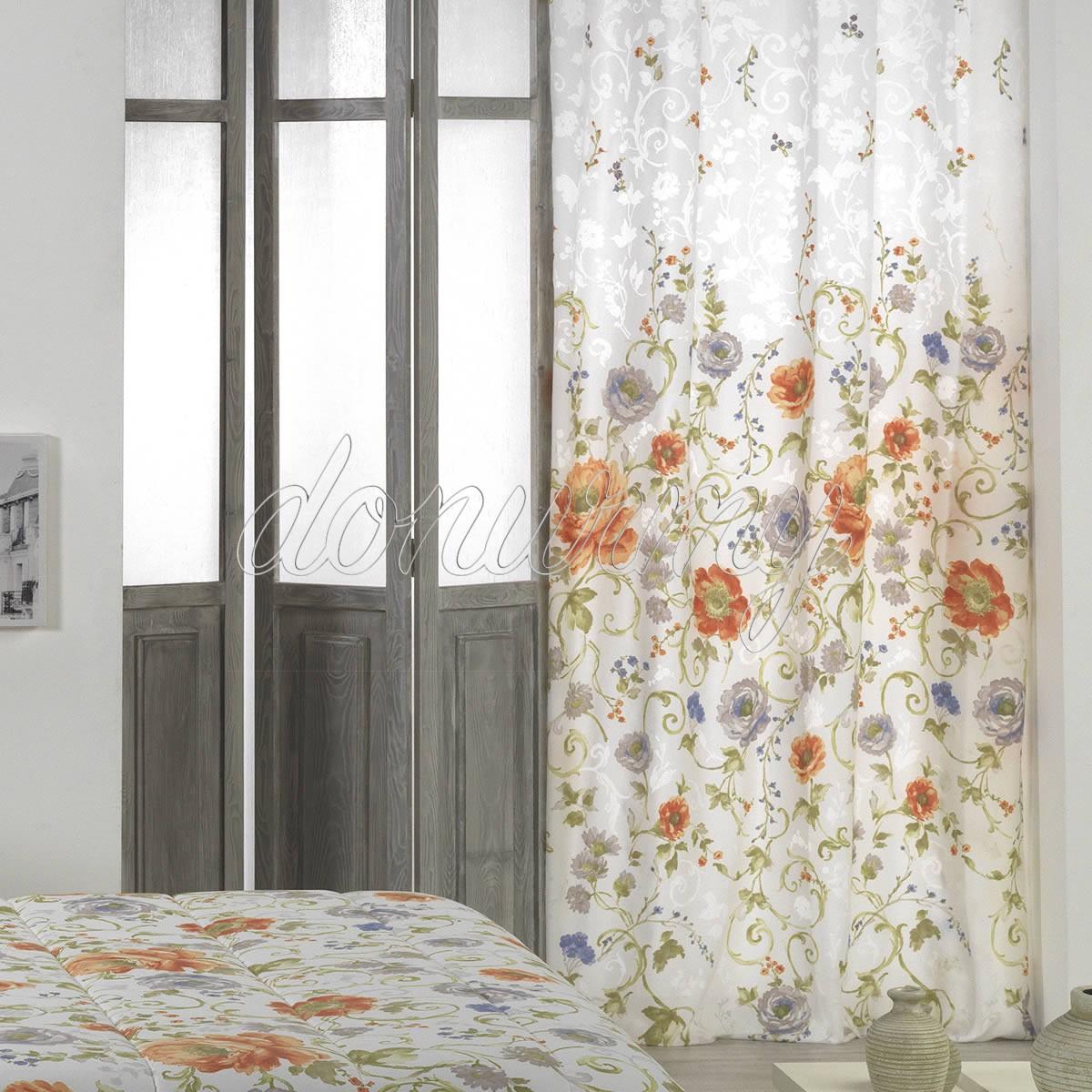Ropa de cama para la decoraci n de oto o con m s estilo de - Cortinas el visillo ...