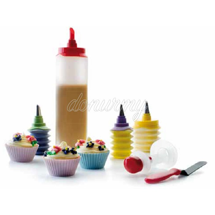 Set Cupcakes Luxe Ibili