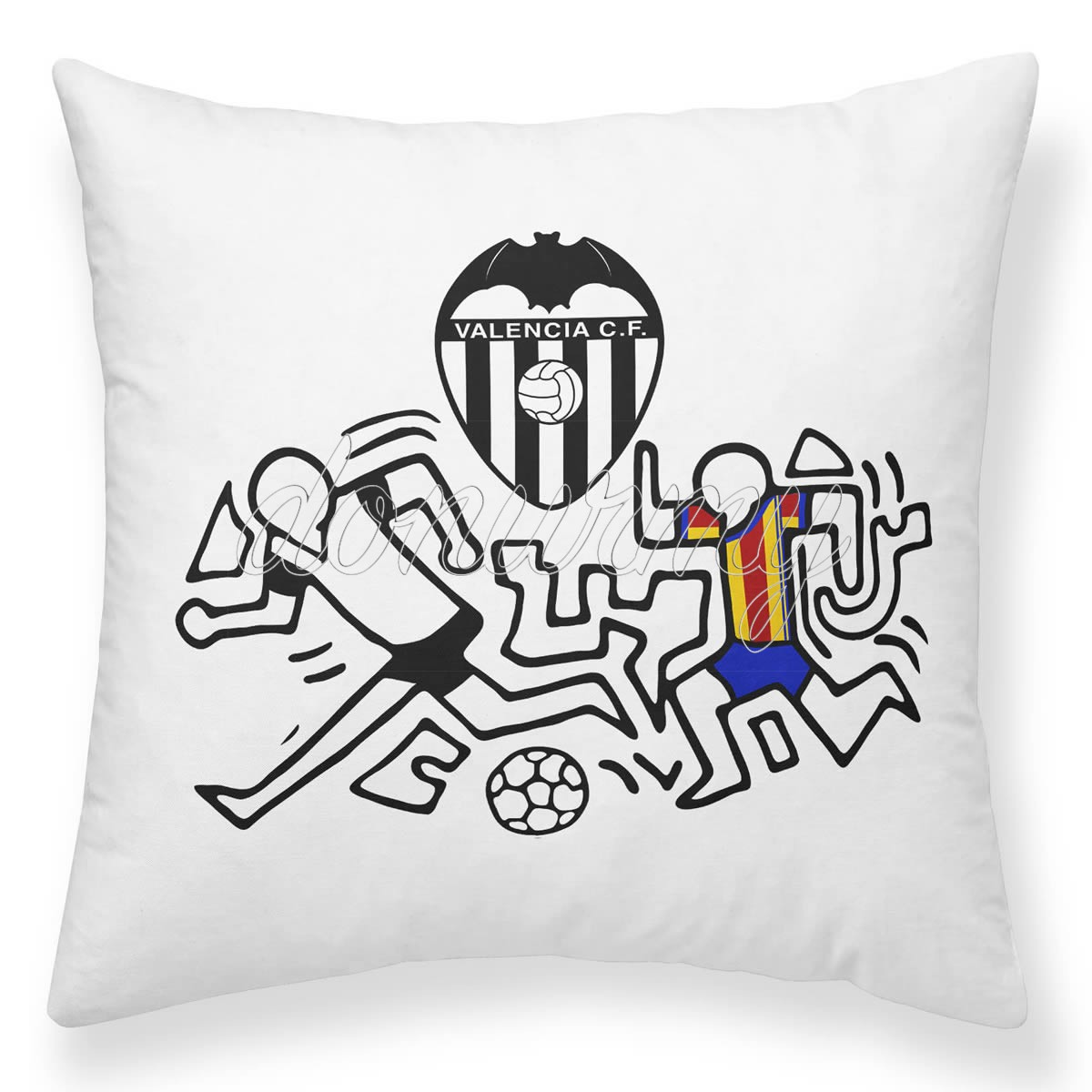 Cojín Jugadores Valencia CF