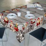 Mantel Antimanchas Santa Clauses Zebra Textil