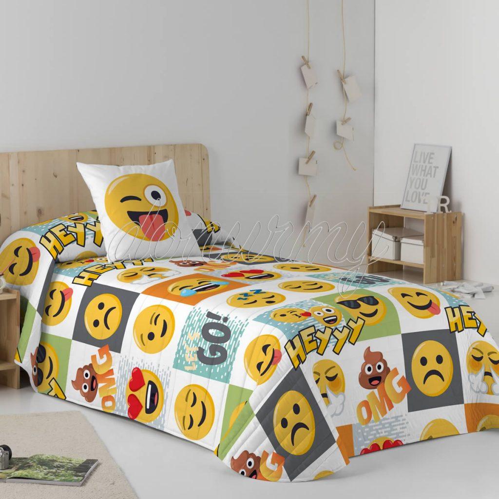 Colcha Bouti Hey Emoji
