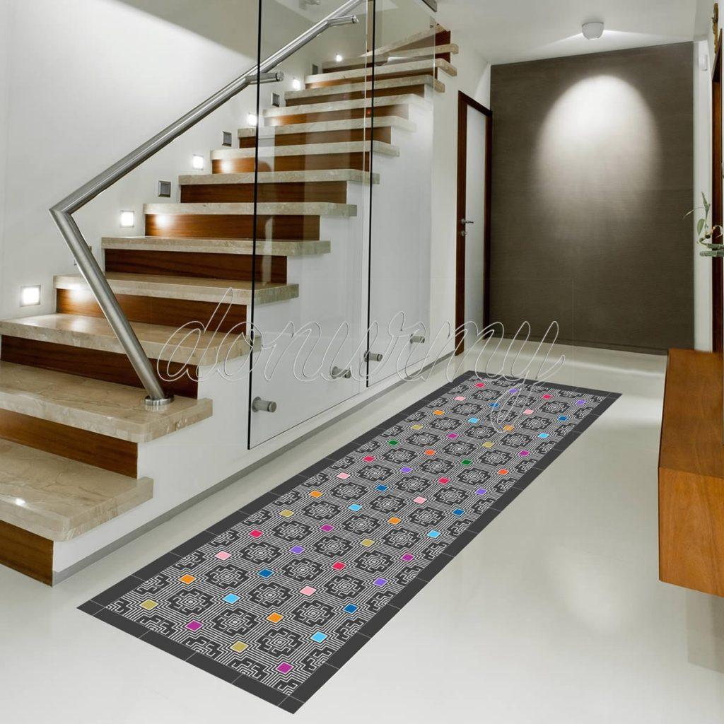 Decora tu hogar con las alfombras vin licas donurmy for Baldosas vinilicas pared