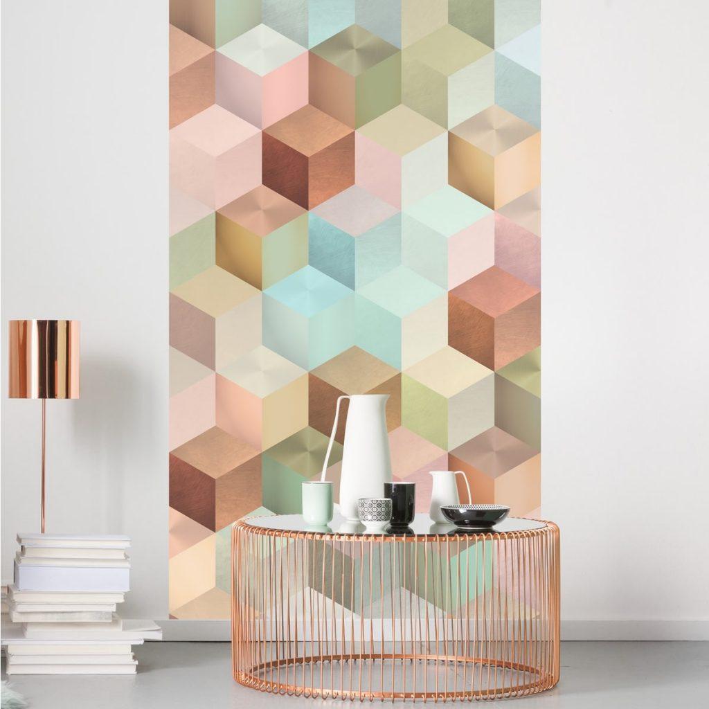 Mural Cubes Panel Komar