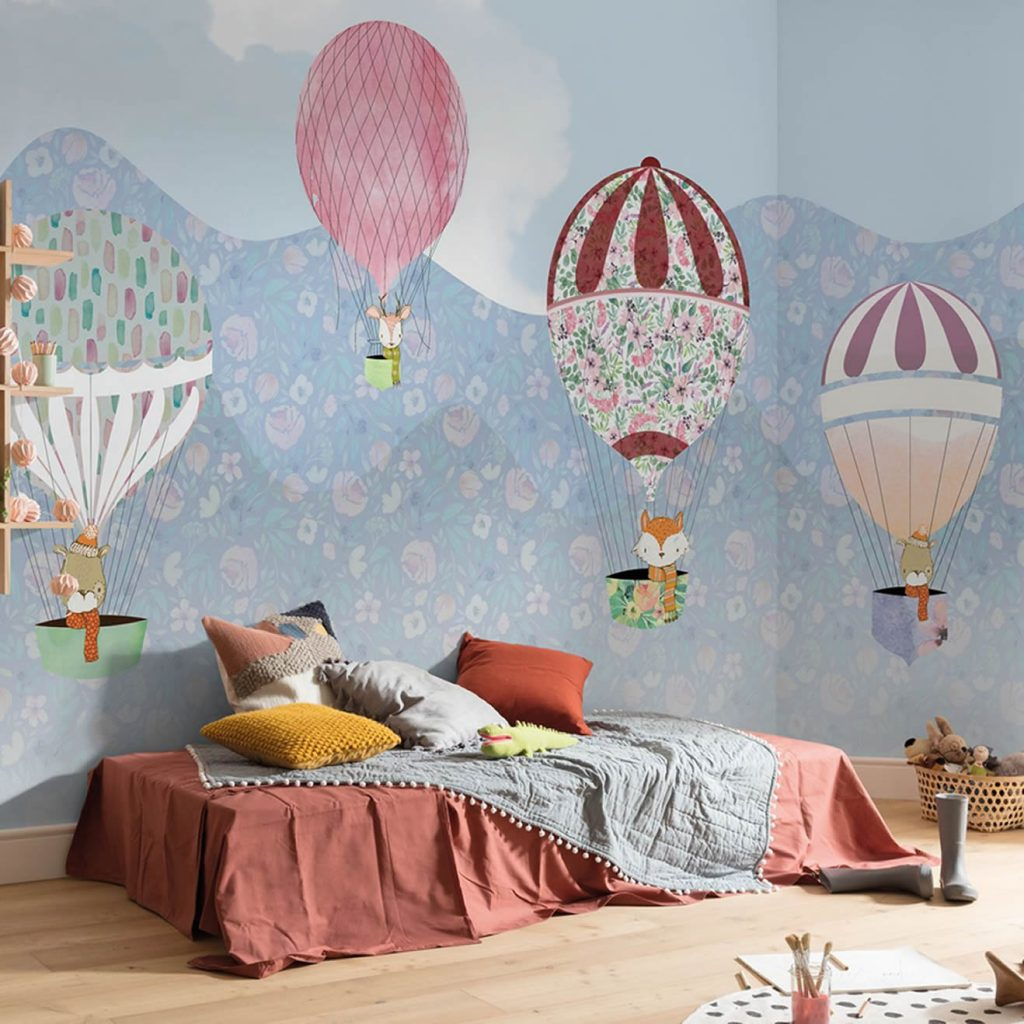 Mural Happy Ballon Komar