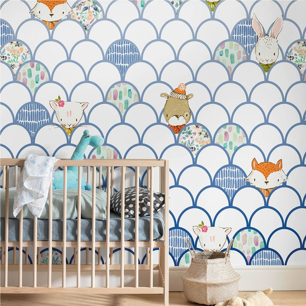 Mural Shelly White Komar