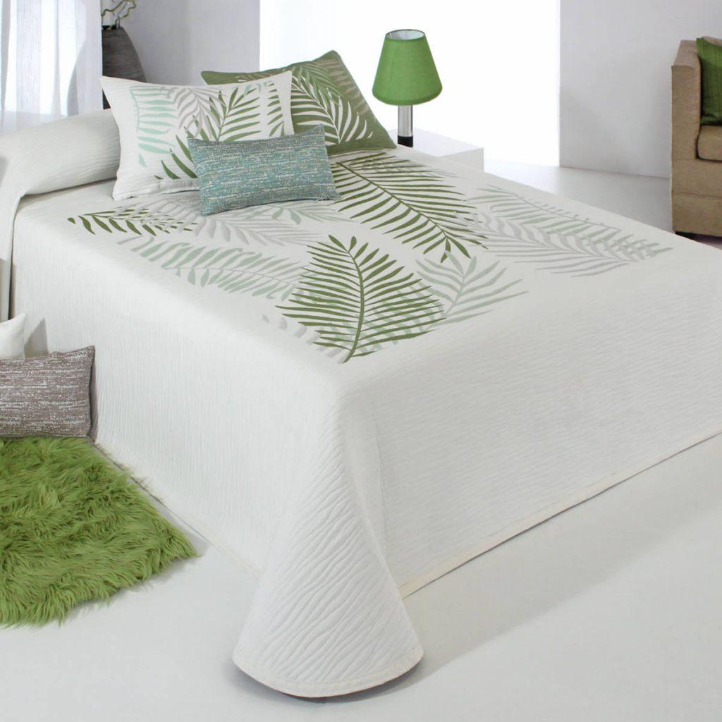 Colcha Libor Verde Reversible Reig Martí